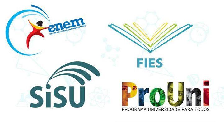 Calendários do Enem, Sisu, Prouni e Fies 2019