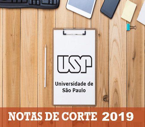 Lista Notas de Corte USP 2019