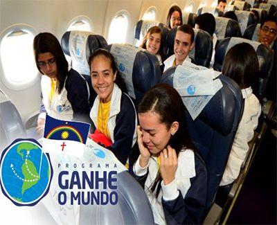 Programa Ganhe o Mundo Inscrições 2019