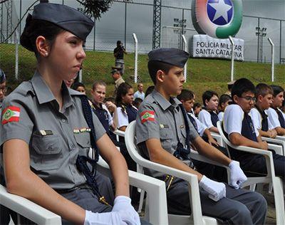 Colégios Militares Santa Catarina 2019