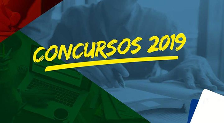 Concursos Públicos Abertos a partir de janeiro de 2019