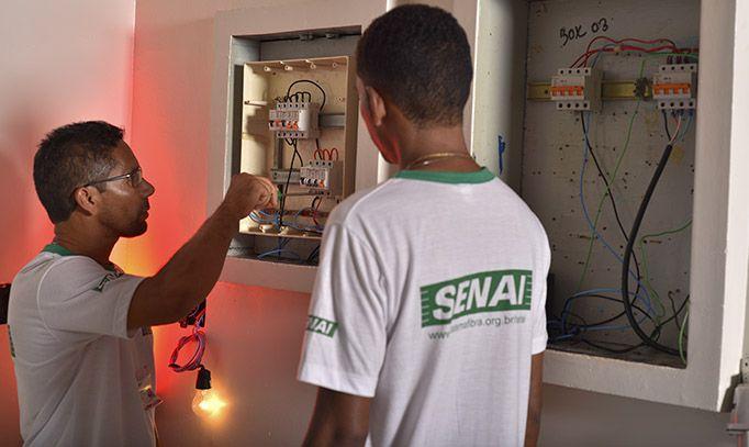 Curso Básico de Eletricidade e Eletricista Instalador Senai 2019