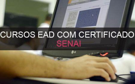 Cursos Gratuitos Senai EaD com Certificado – Inscrições Abertas!