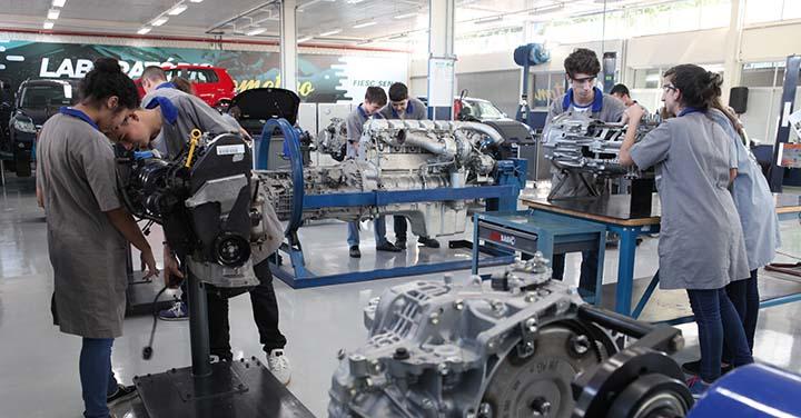 Cursos Técnicos de Manutenção Automotiva e Eletromecânica Senai 2019 - Inscrições