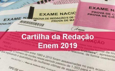 Cartilha da Redação Enem 2019 – Inep Divulgou o Documento!