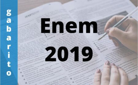 Gabaritos Oficiais do Enem 2019 – Como acessar!