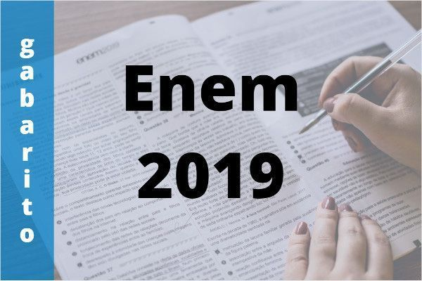 Gabaritos Oficiais do Enem 2019