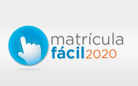Matrícula Fácil RJ 2020