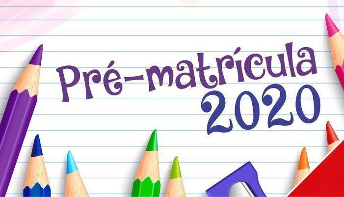 Pré-matrícula Online na Rede Estadual 2020