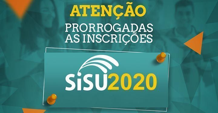 Novas Datas do Sisu 2020