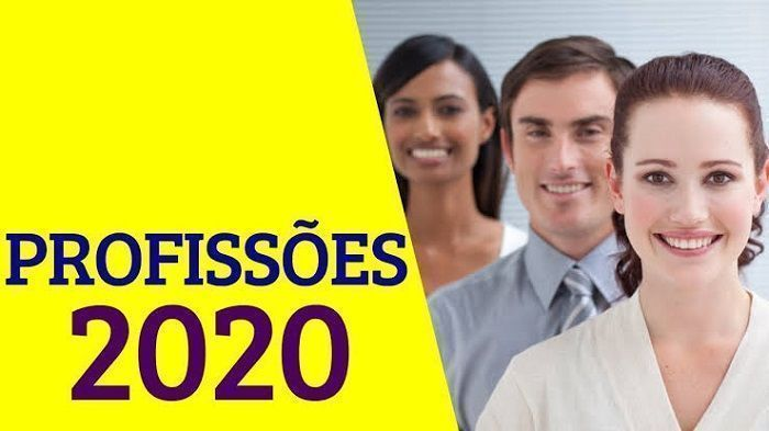 Profissões em alta em 2020