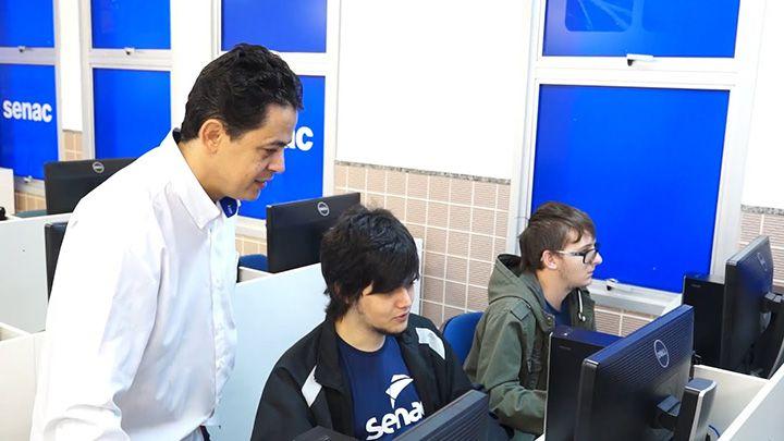 Cursos Gratuitos Senac de Informática e Programação de Jogos