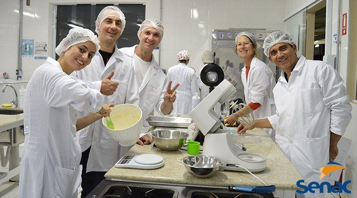 Cursos Técnicos Gratuitos de Cozinha e Nutrição e Dietética Senac 2020