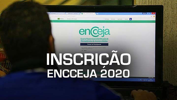 Inscrição Encceja 2020
