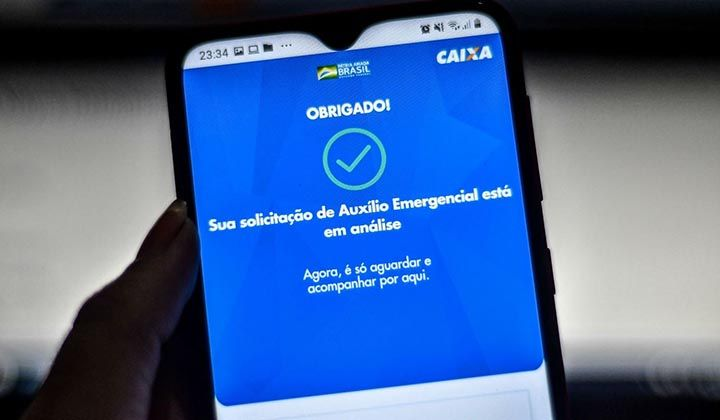 Auxílio Emergencial com Situação Em Análise