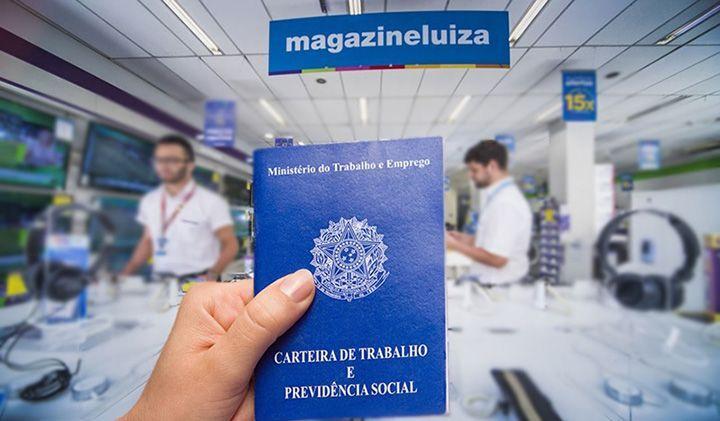 Trabalhar na Magazine Luiza pela internet
