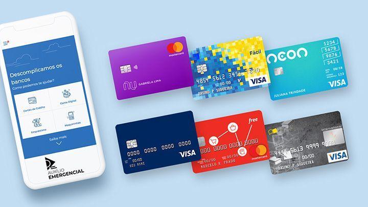 Receber Auxílio Emergencial nos Bancos Digitais?