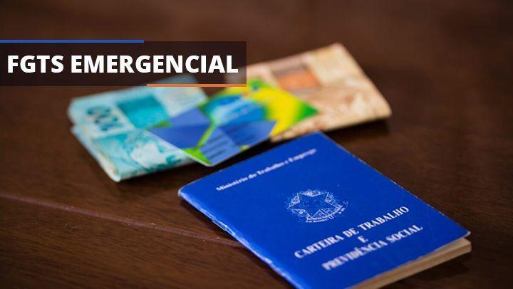 Caixa inicia PAGAMENTO de até R$ 1.045 do FGTS EMERGENCIAL