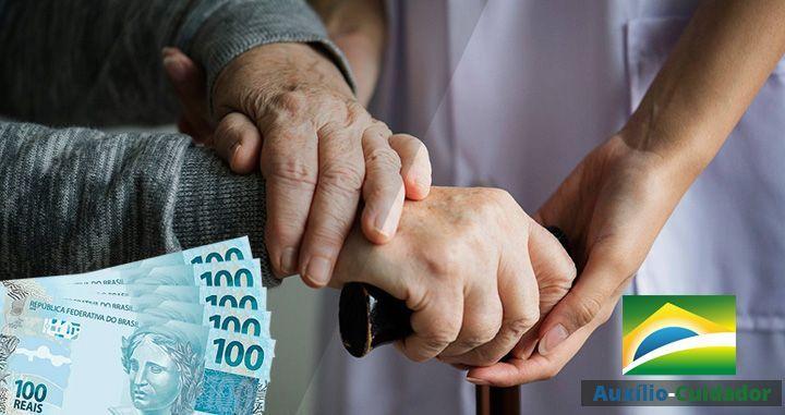 Deficientes e Idosos terão DIREITO ao Auxílio-Cuidador