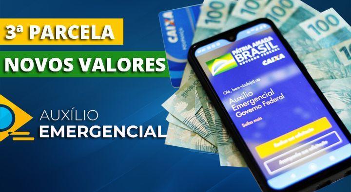 Presidente confirma DATA da 3º PARCELA do Auxílio Emergencial