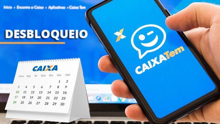 Calendário DESBLOQUEIO Auxílio de R$ 600,00