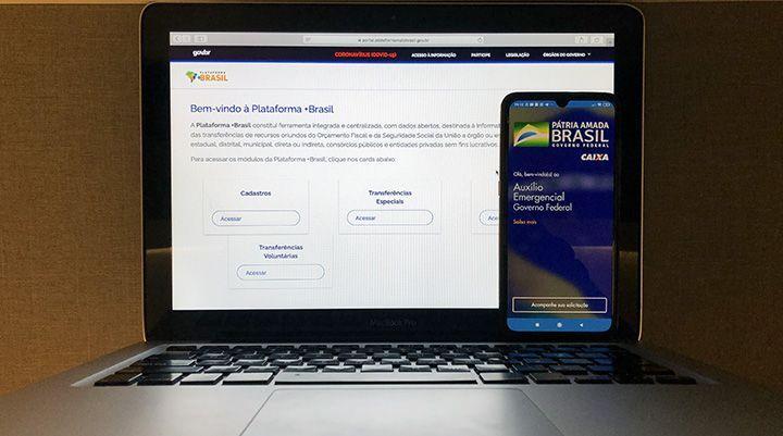 Como SOLICITAR o Auxílio Emergencial na Plataforma +Brasil