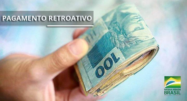 Governo Federal PAGA RETROATIVO na MÉDIA de R$ 1.760