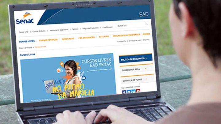 Senac abre 11 MIL Vagas em 30 opções de Cursos EAD Gratuitos: Inscrições no  SITE!