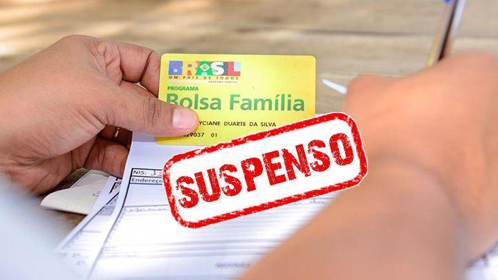 Suspensão de Análise Bolsa Família e Cadastro Único
