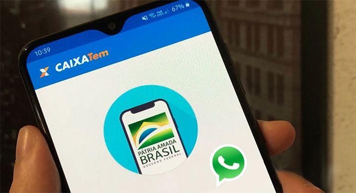 Uso do WhatsApp para RECEBER o Auxílio Emergencial