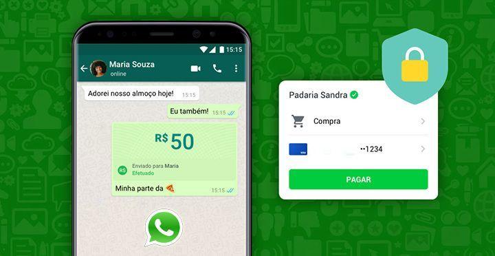 Fazer Pagamentos pelo WhatsApp