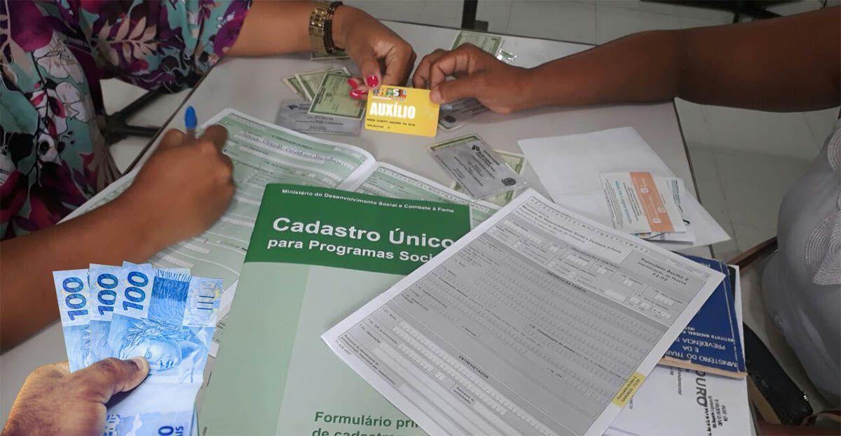 Inscritos no CadÚnico irão RECEBER cartão de R$ 300,00