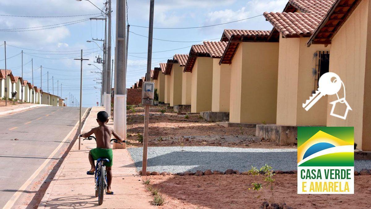LANÇADO! Programa Casa Verde e Amarela