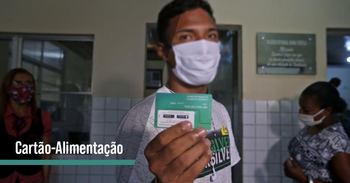 MILHARES de ALUNOS vão RECEBER Cartão-Alimentação