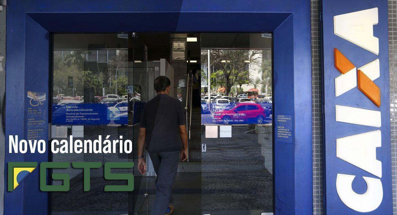 NOVO CALENDÁRIO FGTS: CAIXA deposita até R$1.045
