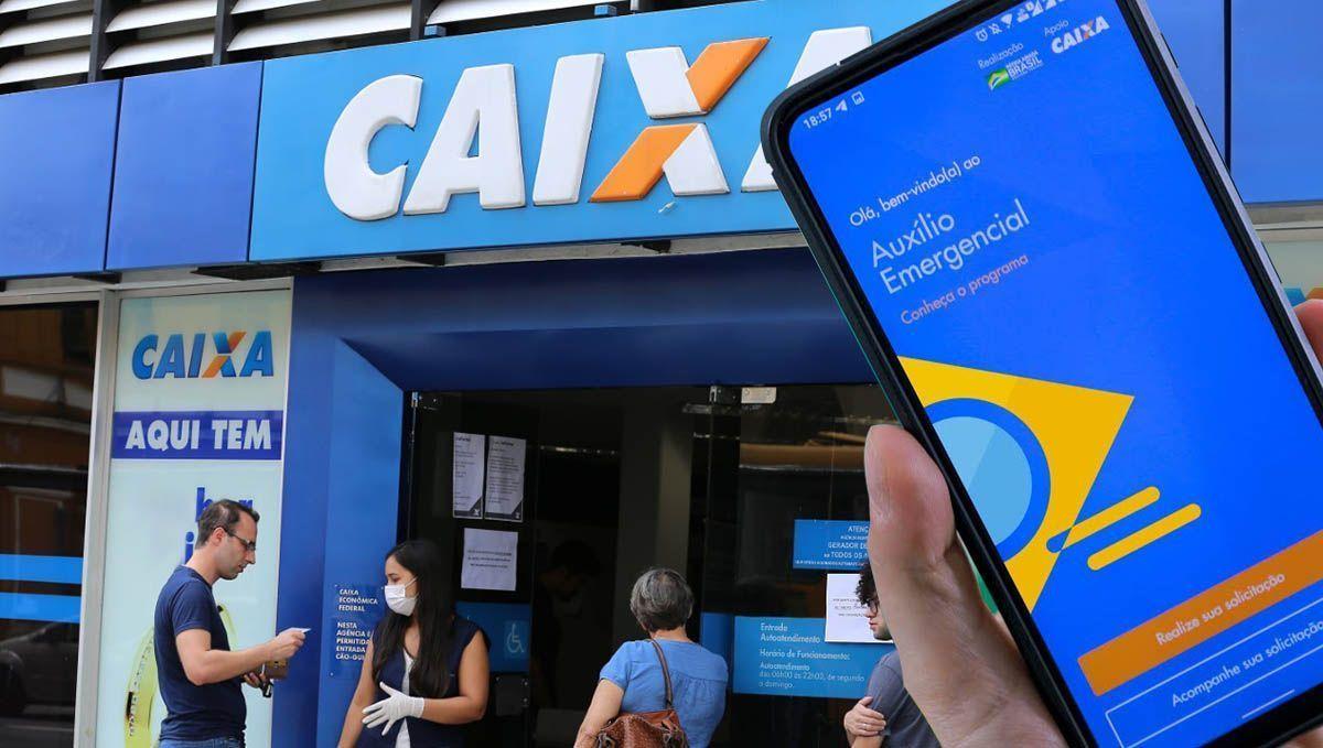 NOVO SAQUE! CAIXA libera 5 lotes do Auxílio de R$ 600,00