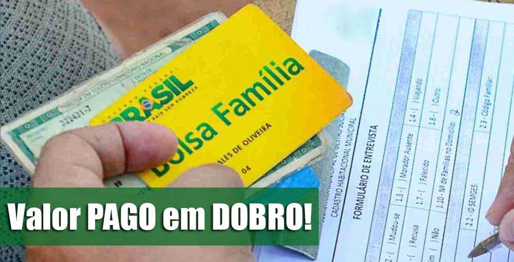 ANUNCIADO! 6ª PARCELA do Bolsa Família