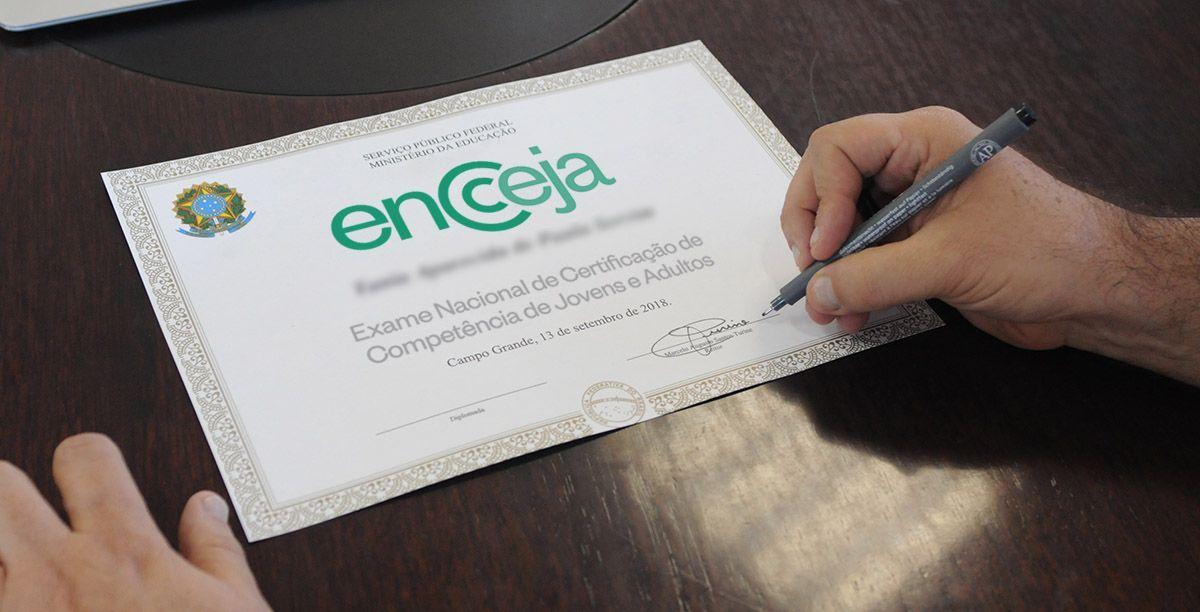 Como pedir a certificação do Encceja?