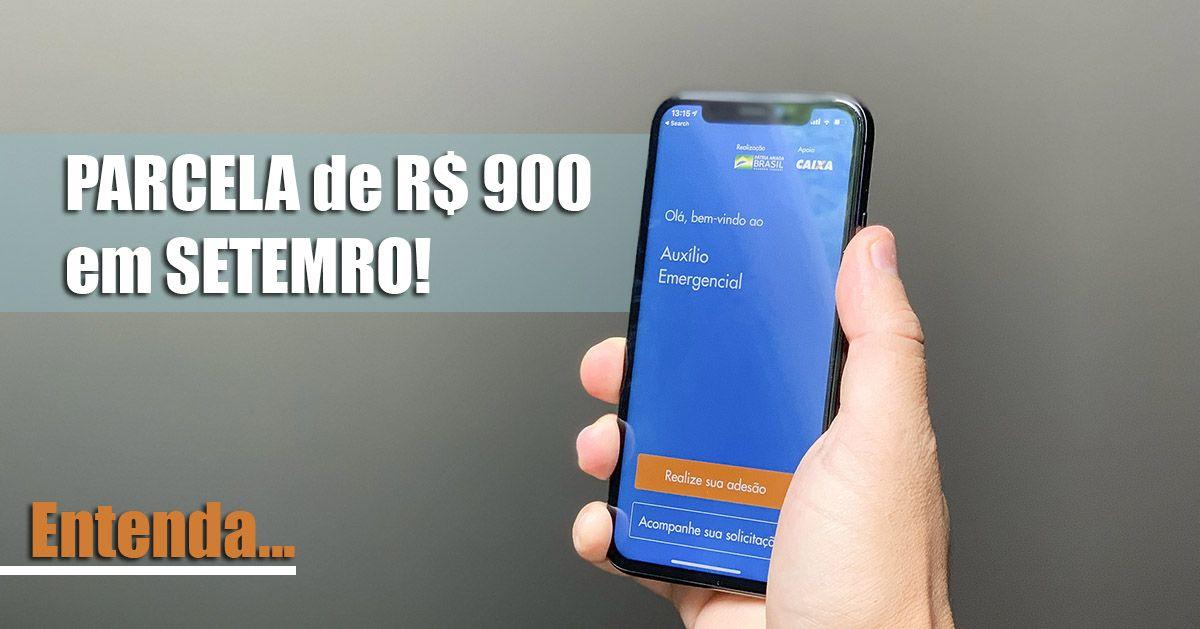 NOVIDADE! 6ª PARCELA do Auxílio de R$300