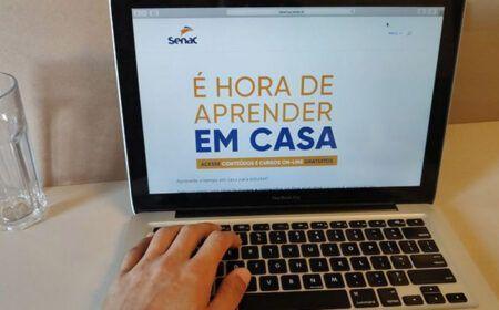FORMAÇÃO GRATUITA! SENAC libera acesso a 90 CURSOS de conclusão ONLINE!