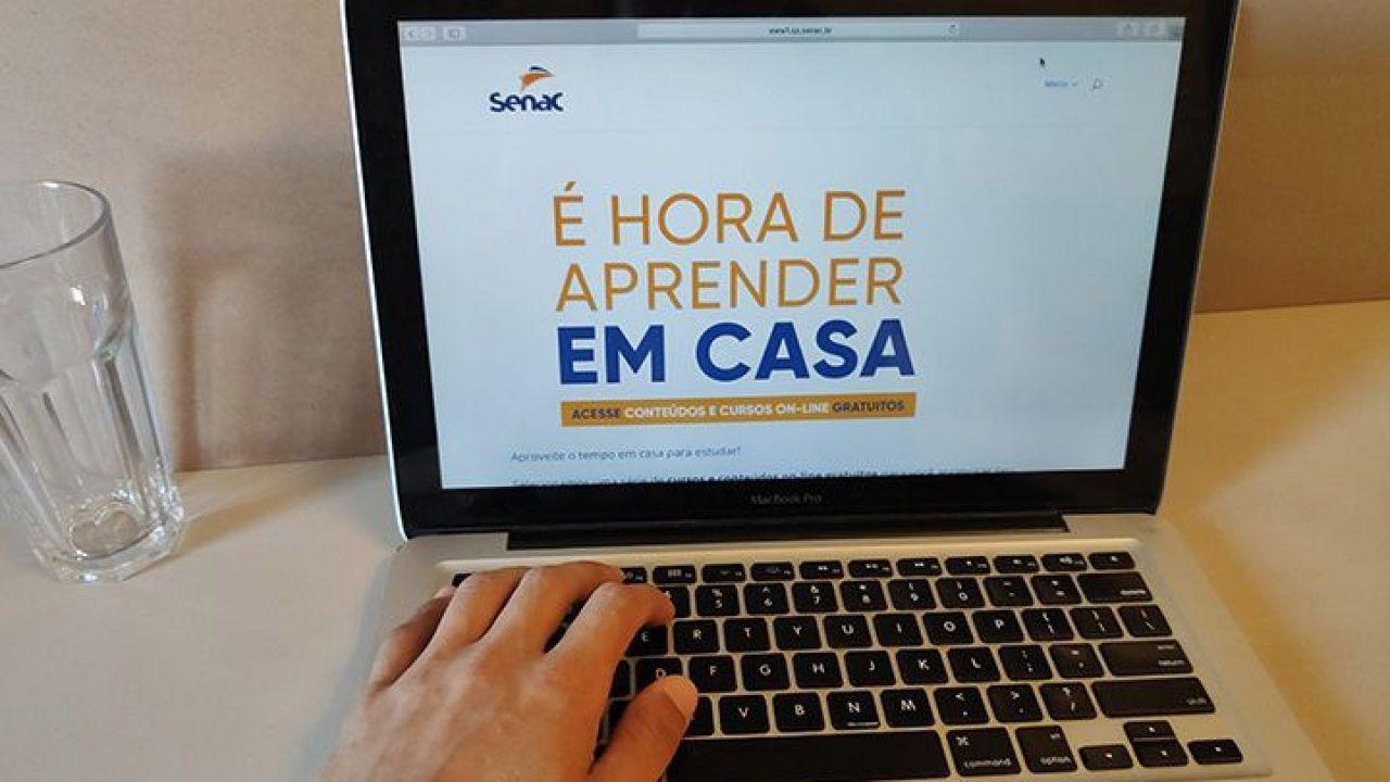 SENAC libera acesso a 90 CURSOS de conclusão ONLINE!