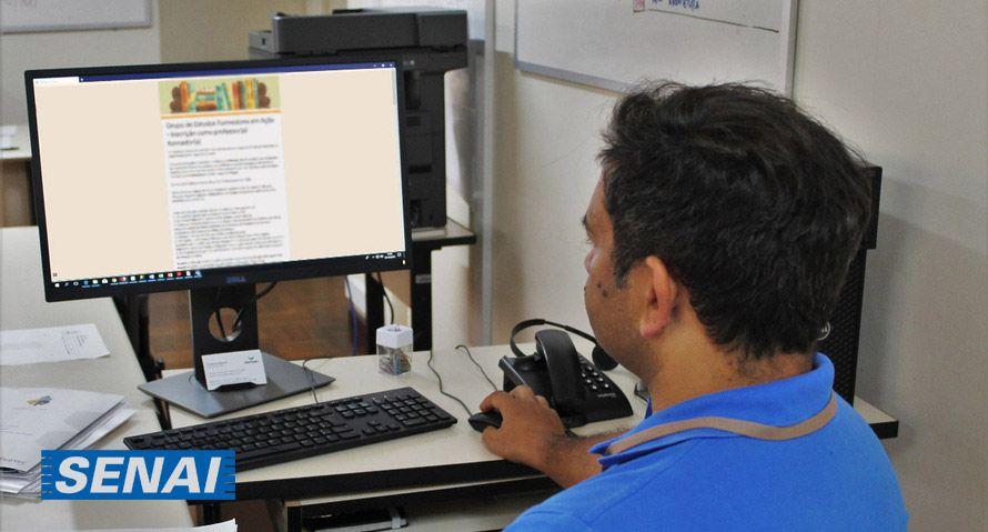 SENAI abre 5 MIL VAGAS em CURSOS GRATUITOS Online