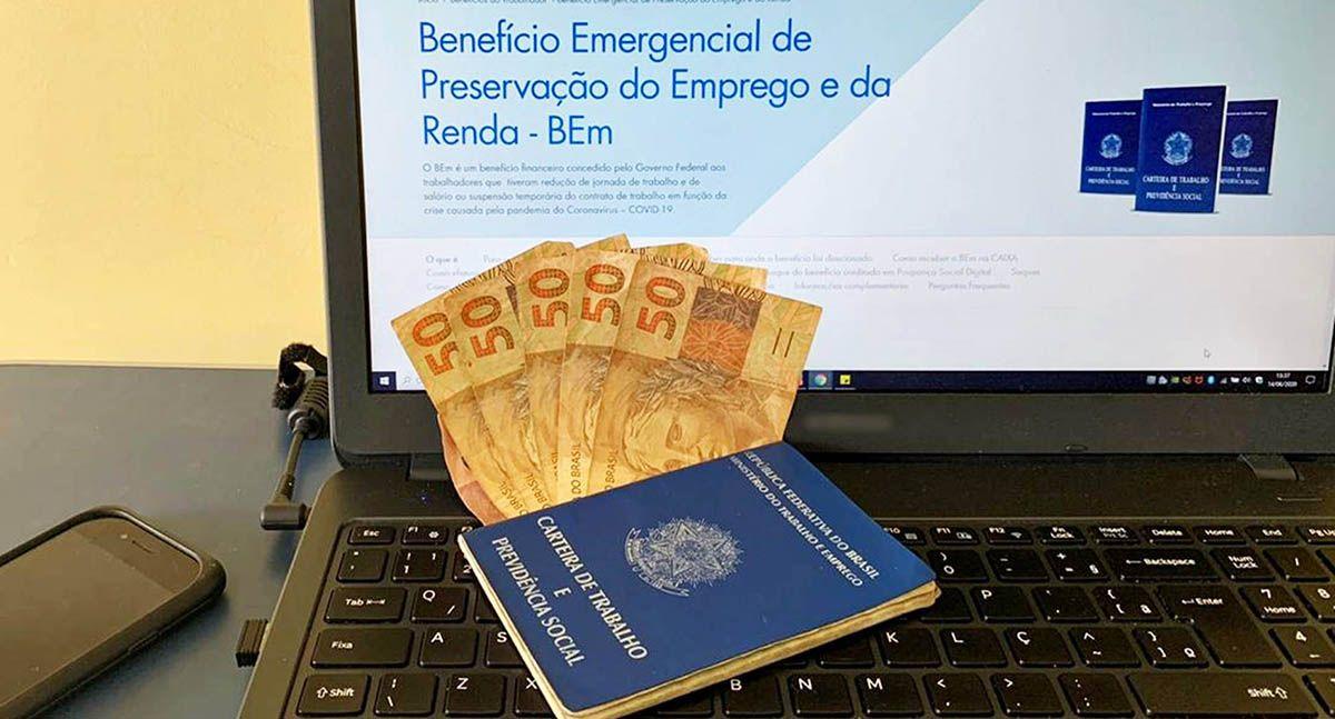 Trabalhadores Formais receberão benefício a partir de R$ 261,25 até R$1.813