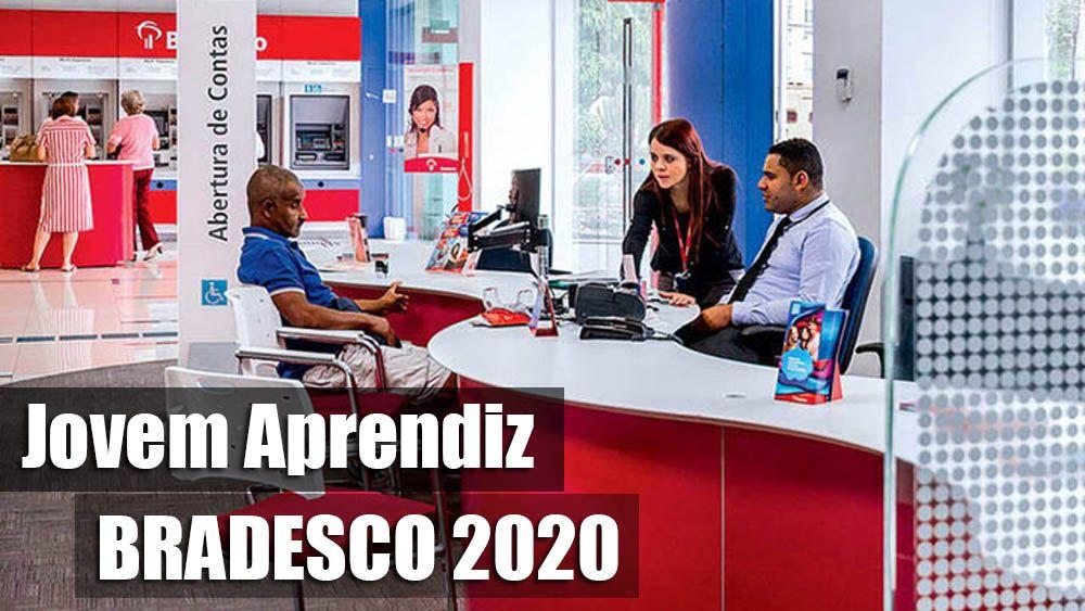 Trabalhe Conosco Jovem Aprendiz Bradesco 2020