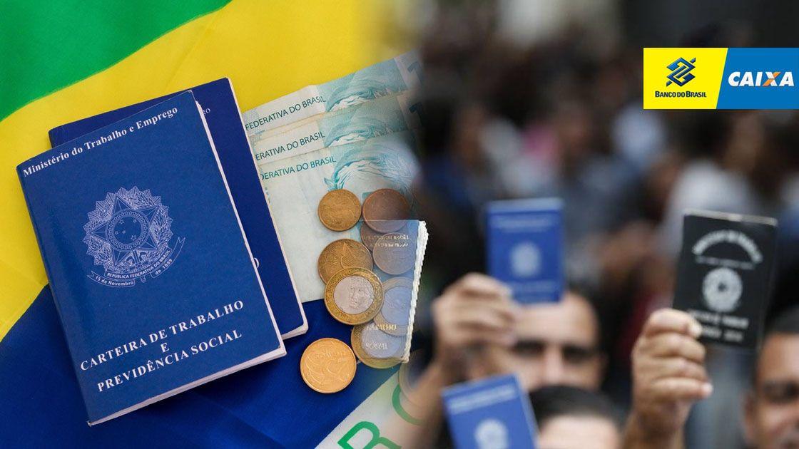 Caixa e BB convocam quem TRABALHOU em 2018 e 2019 para RECEBER até R$1.045