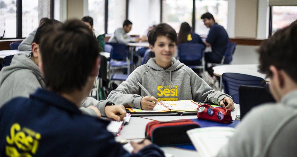 Escolas SESI de Ensino Médio estão oferecendo VAGAS em diversas Regiões do País