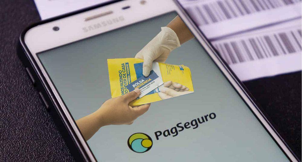 Nova FORMA de RECEBER o Bolsa Merenda pelo PagSeguro e PagBank