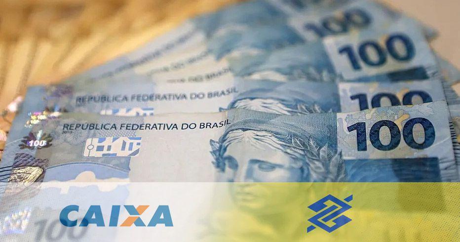 CAIXA e BB LIBERAM 5 PAGAMENTOS até R$1.045 do ABONO SALARIAL