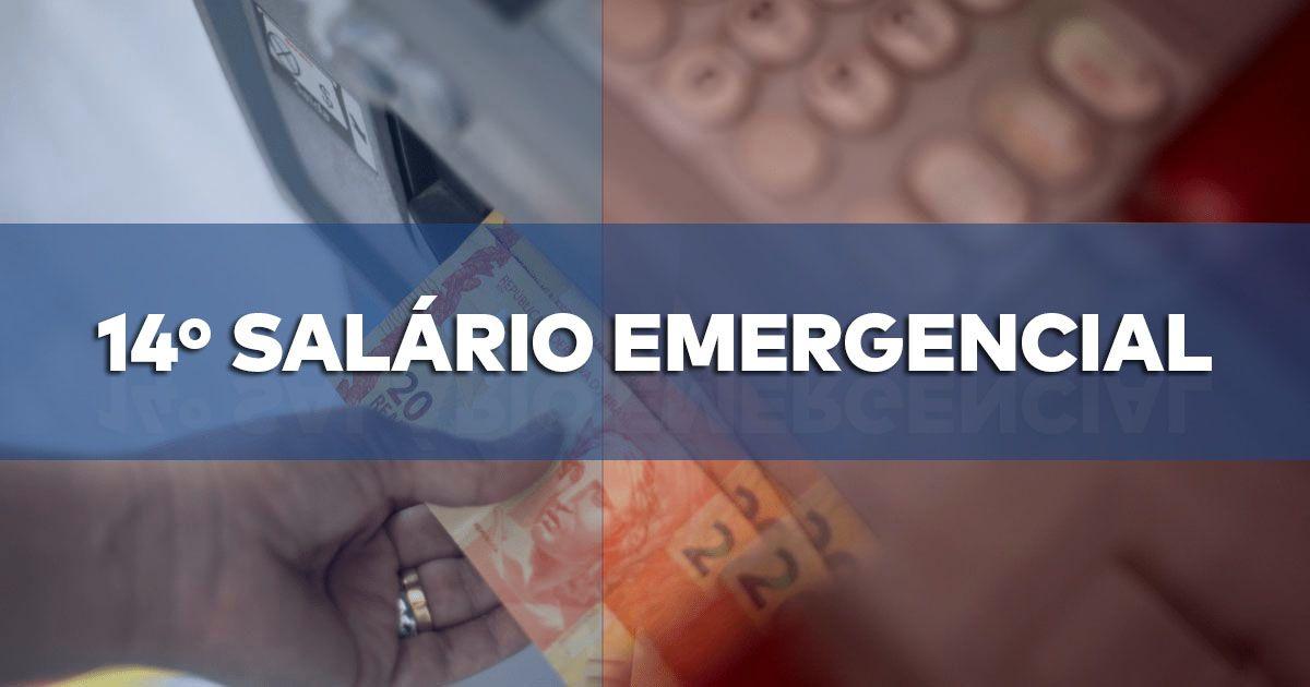 14º SALÁRIO EMERGENCIAL para APOSENTADOS recebe APOIO