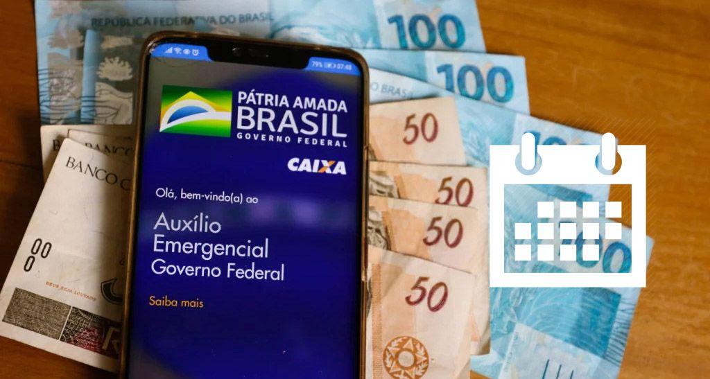 ATÉ o FIM de DEZEMBRO: TODAS as DATAS do Auxílio de R$ 600,00 e R$ 300,00